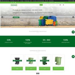 Preview proiect website Casa de Comert Dona