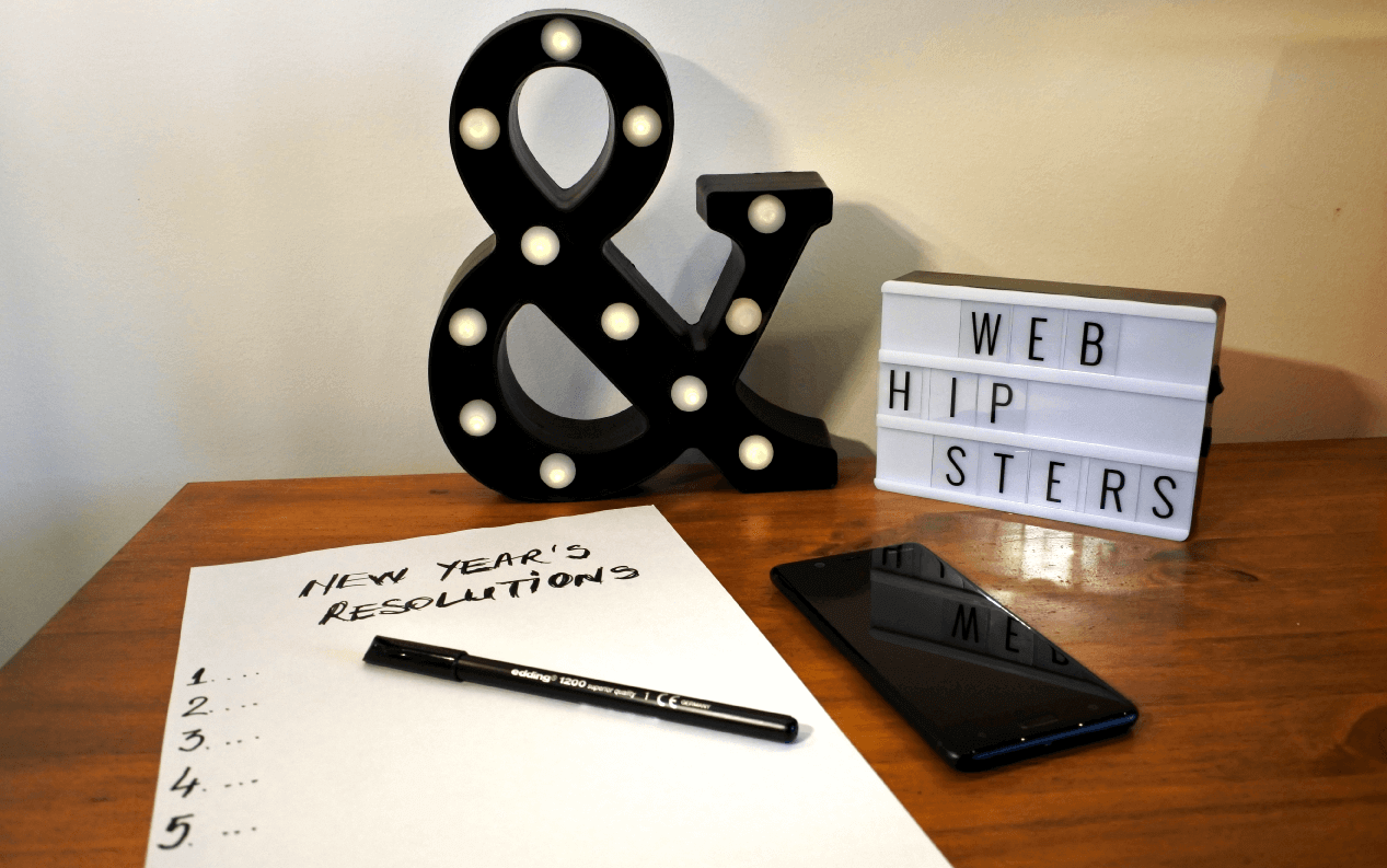 rezolutii de anul nou 2021 WebHipsters