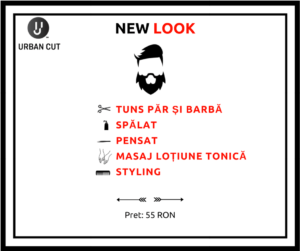 Pachetul New Look, Urban Cut, Bucuresti