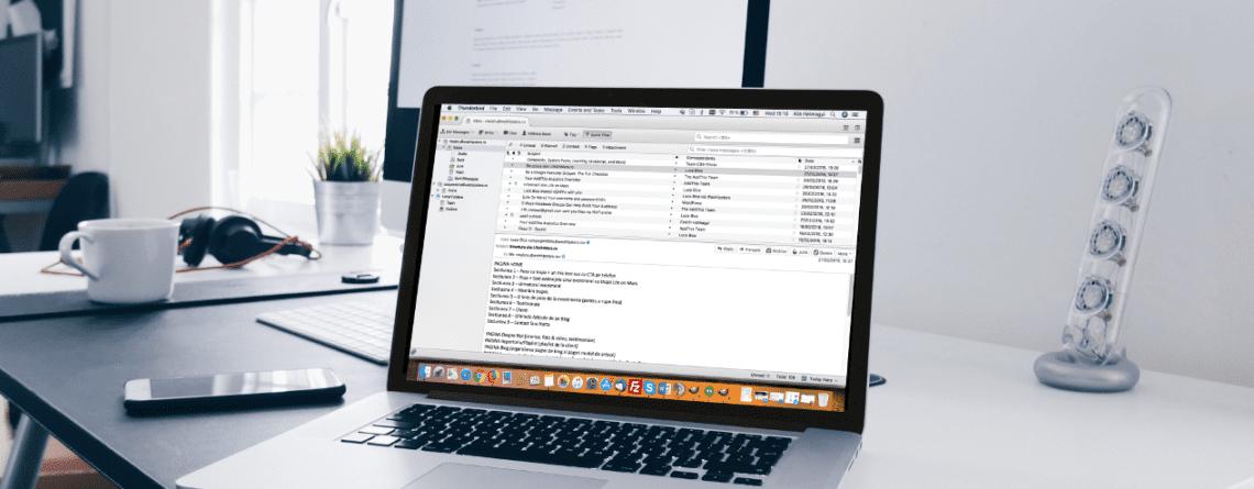 Seteaza mailul personal pe calculator