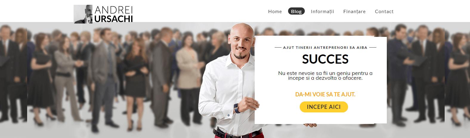 Andrei Ursachi blog antreprenoriat