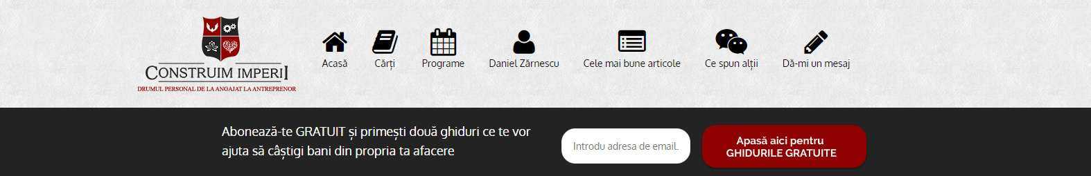 blog Antreprenor Daniel Zarnescu