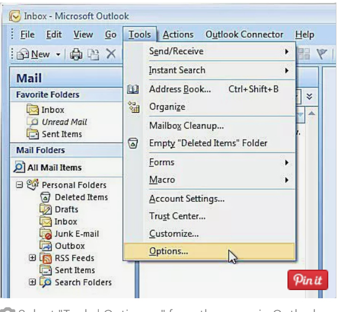 Pas 1 semnatura mail Outlook