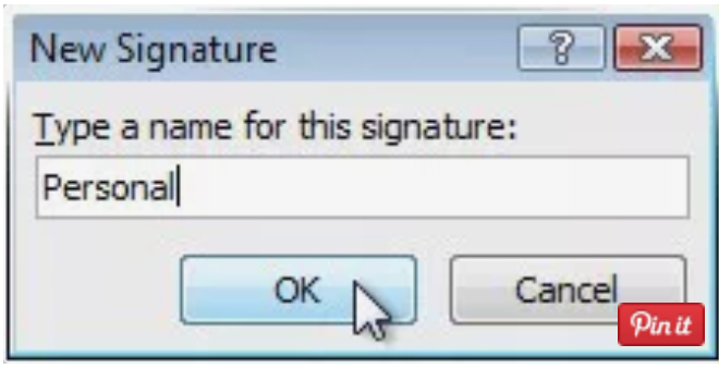 pasul 4 semnatura mail Outlook 2007