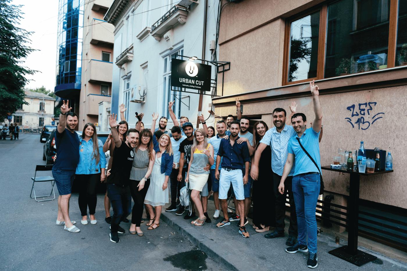 toti invitatii la petrecerea Urban Cut din Bucuresti iulie 2018
