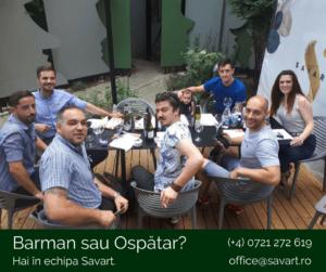 Echipa restaurantului Savart 2018