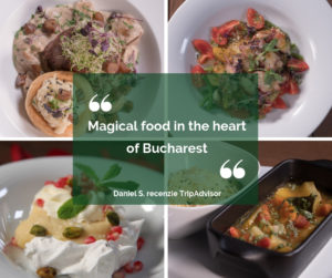 Magical food in the heart of Bucharest