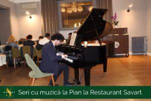 Seri cu muzică la Pian la Restaurant Savart (1)