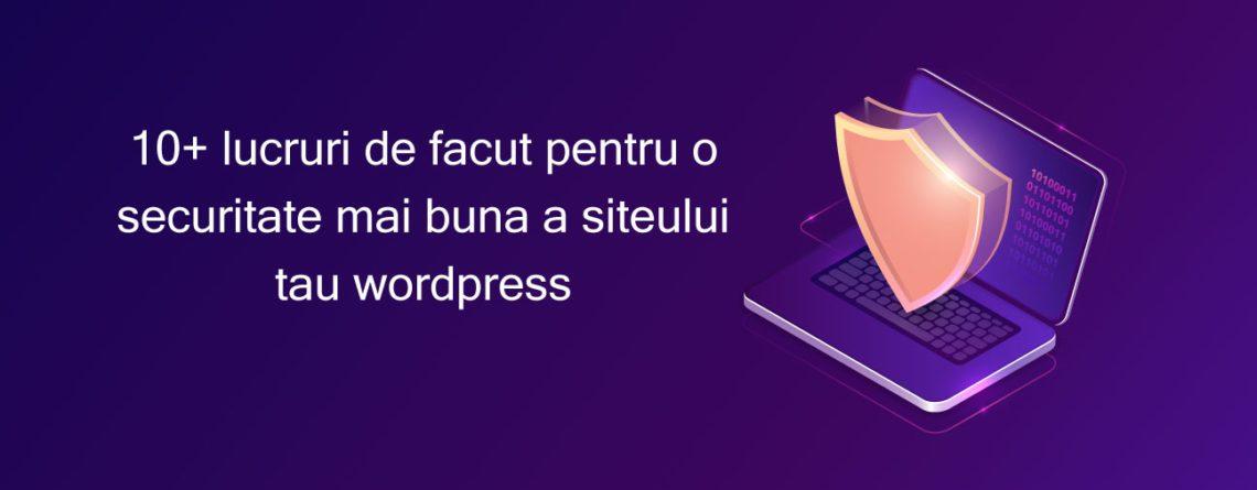 securitate site Wordpress