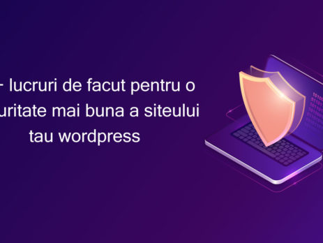 securitate site Wordpress