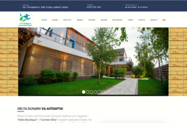 site de prezentare hotel