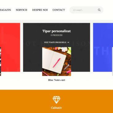 portofoliu site prezentare wordpress