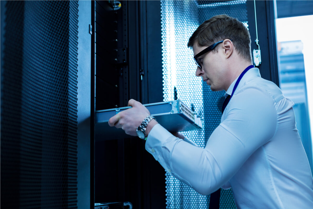 infrastructura IT securizata