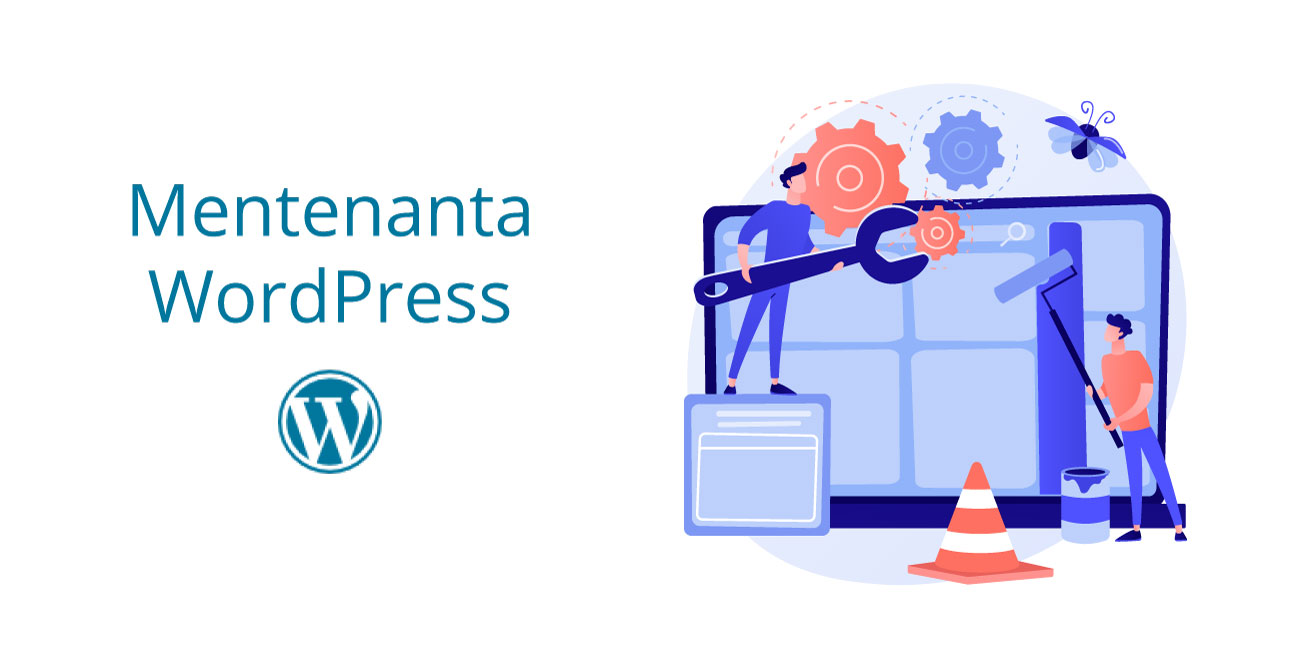 mentenanta web pentru site-uri WordPress